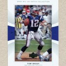 2003 UD Patch Collection Football #012 Tom Brady - New England Patriots