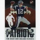 2003 Topps Pristine Football #026 Tom Brady - New England Patriots