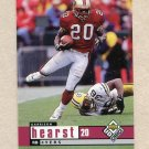 1998 UD Choice Football #414 Garrison Hearst - San Francisco 49ers