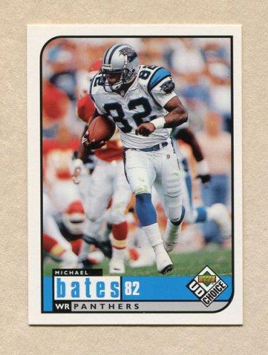 1998 UD Choice Football #309 Michael Bates - Carolina Panthers