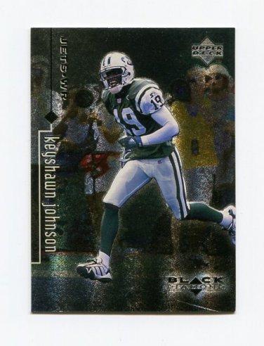 1998 Black Diamond Rookies Football #060 Keyshawn Johnson - New York Jets