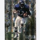 1998 Black Diamond Rookies Football #008 Errict Rhett - Baltimore Ravens