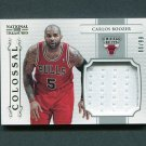 2012-13 Panini National Treasures Colossal Materials #2 Carlos Boozer - Chicago Bulls Game Used /99