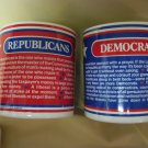 Republicans vs Democrats! (2) mugs that say it all - when there's division @home