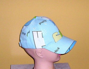 Boys Light Blue Ball Cap Giraffe Chick Multi-Color One Size New!
