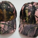 Pink Hardwoods Camouflage Hat Womens Camo Baseball Cap New!