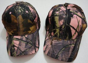Pink Hardwoods Camouflage Hat Womens Camo Baseball Cap New!