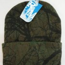 Knitted Toboggan Hardwood Camouflage Camo Beanie Winter Hat Unisex New!