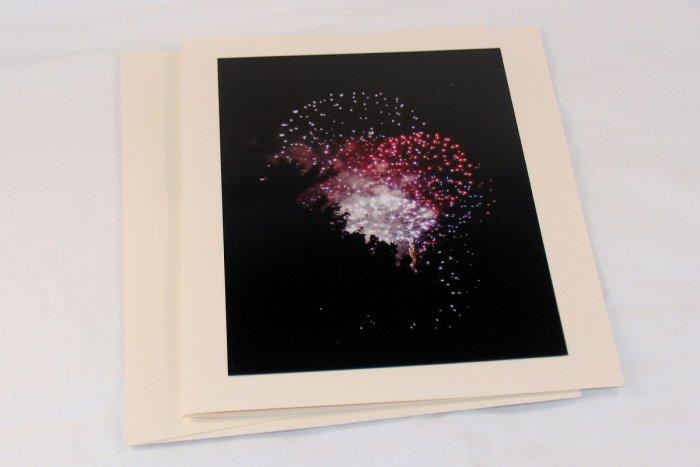 Fireworks - Original Fine Art Photograph Photocard