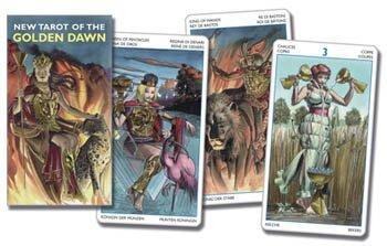 Initiatory tarot of the Golden Dawn Deluxe by Giordano Berti