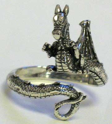 Dragon, adjustable ring
