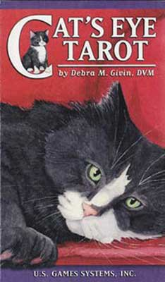 Cat's Eye Tarot Deck by Debra Givin