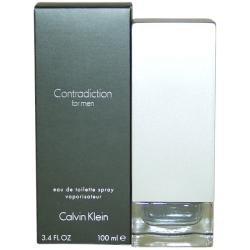 Contradiction by Calvin Klein for Men EDT Spray 3.4 oz