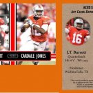 J.T. JT Barrett Cardale Jones Combo 2014 ACEO Sports Football Card Ohio State