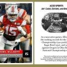 Ezekiel Elliott 2014 National Champions ACEO Football Card - Ohio State