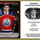 Connor McDavid 2015 ACEO Hockey Card Edmonton Oilers Rookie RC BRAND NEW!