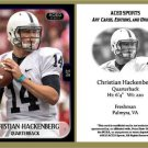 Christian Hackenberg 2013 ACEO Sports Football Card Penn State