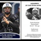 Taylor Heinicke 2012 ACEO Sports Pre RC Card Old Dominion Minnesota Vikings