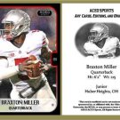 Braxton Miller 2013 ACEO Sports Football Card Ohio State