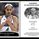 Skylar Diggins 2013 ACEO Sports Pre RC Basketball Card Notre Dame Tulsa Shock