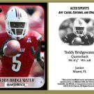 Teddy Bridgewater 2013 ACEO Sports Football Card Louisville Minnesota Vikings