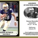 Keenan Reynolds 2013 ACEO Sports Football Card Navy
