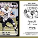 Taysom Hill 2013 ACEO Sports Football Card BYU