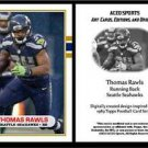 Thomas Rawls 2015 - 1989 Topps Style ACEO Football Card - Seattle Seahawks NEW!