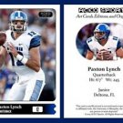 Paxton Lynch NEW! 2015 ACEO Sports Football Card Memphis Tigers QB