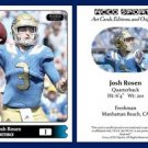 Josh Rosen NEW! 2015 ACEO Sports Football Card - UCLA Bruins QB