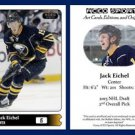 Jack Eichel 2015 ACEO Sports Hockey Update Card - Buffalo Sabres Rookie - RC