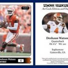 Deshaun Watson 2015 ACEO Sports Football Card - Clemson Tigers QB