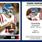 Chad Kelly 2015 ACEO Sports Football Card Ole Miss Rebels QB