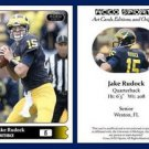 Jake Rudock 2015 ACEO Sports Football Card - Michigan Wolverines QB