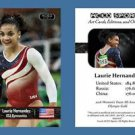 Laurie Hernandez NEW! ACEO Sports Card 2016 Olympics Team Gold - Final Five