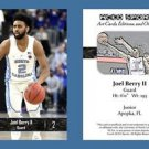 Joel Berry II NEW! 2016-17 ACEO Sports Basketball Card UNC Tar Heels