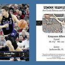 Grayson Allen NEW! 2016-17 ACEO Sports Basketball Card Duke Blue Devils