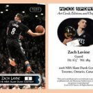 Zach Lavine BRAND NEW 2016 Slam Dunk Contest Commemorative ACEO Card - Minnesota