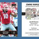 Jacob Eason NEW! 2016 ACEO Sports Football Card - Georgia Bulldogs - QB