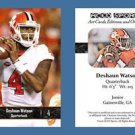 Deshaun Watson NEW! 2016 ACEO Sports Football Card - Clemson Tigers - QB