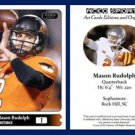Mason Rudolph 2015 ACEO Sports Football Card Oklahoma State Cowboys - QB