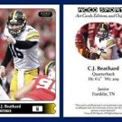 C.J. CJ Beathard 2015 ACEO Sports Football Card - Iowa Hawkeyes QB