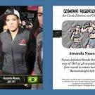 Amanda Nunes 2016 ACEO Sports Trading Card UFC 207 Commemorative MMA