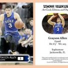 Grayson Allen 2015-16 ACEO Sports Basketball Card Duke Blue Devils