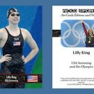Lilly King NEW! ACEO Sports Card 2016 Rio Olympics USA Swimming