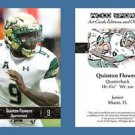 Quinton Flowers NEW! 2016 ACEO Sports Football Card - USF Bulls - QB