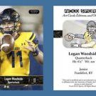 Logan Woodside NEW! 2016 ACEO Sports Football Card - Toledo Rockets - QB