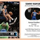 Aaron Gordon BRAND NEW 2016 Slam Dunk Contest Commemorative ACEO Card - Orlando