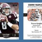 Trevor Knight NEW! 2016 ACEO Sports Football Card - Texas A&M Aggies - QB