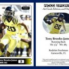 Tony Brooks-James 2015 ACEO Sports Football Card - Oregon Ducks RB
